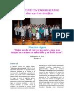 .-. Segundo Boletín de Infecciones en Las Embarazadas Agosto 2019
