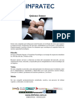 Carta de Presentacion Dinfratec S.a.