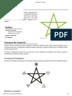 Pentagrama - Ocultura