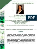 Seminario de Feromonas y Comunicacion Quimica