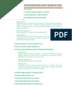 Especificaciones Electricas -Sanchez Carrion