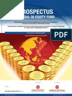 PB Asia 30 Equity Fund Prospectus SC