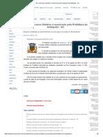 Novo Processo Seletivo é Anunciado Pela Prefeitura de Anitápolis - SC