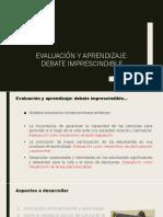 Evaluacion y Aprendizaje