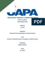 4 Evaluacion de Los Aprendizajes