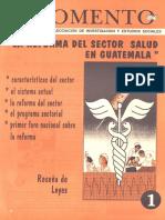 La Reforma Del Sector Salud en Guatemala