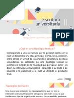 Tipologías textuales- argumentativa y expositiva