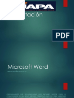 Presentacion De Microsoft Word manejadores de texto