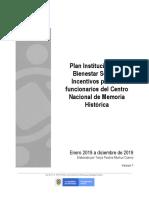 Plan de Bienestar Social e Incentivos 2019