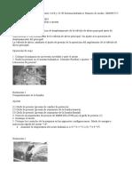 Válvula de Alivio (Piloto) - Probar y Ajustar