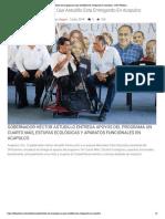 07-06-2019 Estos Son Lo Programas Que Astudillo Esta Entregando en Acapulco.