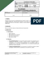 Procedimiento Servicios de Mantenimiento de Transmision y Distribucion