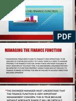 Finance Function