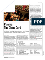 Playing the China Card