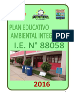 plan educativo ambiental