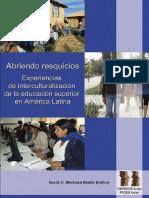 Interculturalizacion de la Educación Sup en América Latina