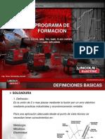 Proc. Soldadura Arco LINCOLN