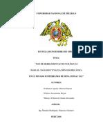 Uso de Herramientas Tecnológicas Para El Análisis y Evaluación Geomecánica de Mina Huinac Sac