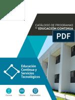 Catálogo de Educación Contínua UTS