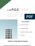 Targeting - Group 1