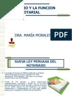 El notario y su función Publica