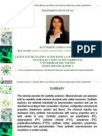 polimeros sinteticos