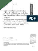 Lógica de las Organizaciones Populares en Medellín.pdf