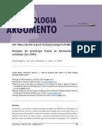 Atuacao Do Psicologo Frente as Demandas Em Unidades Dos CRAS