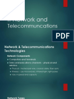 IT Network and Telecommuncations
