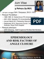 Epidemiologi & Risk factor of Angke closure