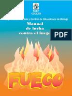 instructivo para incendio