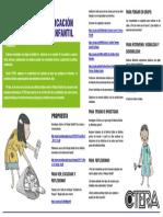 Trabajo Infantil Propuesta Ctera-2018-1