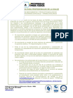 Acetaminofen-Profesionales