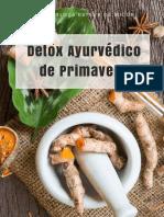 Detox Ayurvédico Primaveral eBook