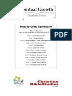How to Grow Spirituality