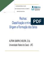 Aula 02 - Tipo de Rochas e Origem e Formação Dos Solos III