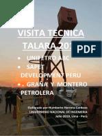 Visita Tecnica Talara 2019 Uni - Pvt