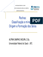 Aula 02 - Tipo de Rochas e Origem e Formação Dos Solos IV