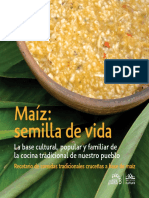 Recetario - Cocina Tradicional Maiz