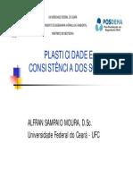 Aula 05 - Plasticidade e Consistência