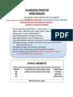 Ulangan Praktik Web Desain