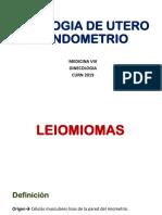 Patologia de utero y endometrio