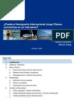 ¿Puede el Aeropuerto Internacional Jorge Chávez convertirse en un hub aereo?