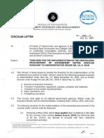 Circular Letter No 2019 9