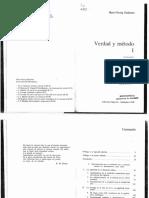 [1999] Gadamer - Verdad y Método I