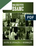 Cálculo de Payback Simples (MBA ESAMC)