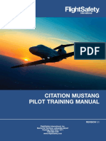 Citation Mustang Pilot Training Manual