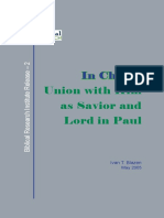BLAZEN, Ivan T. (2005). In Christ, Union with Him as Savior and Lord in Paul. Biblical Research Institute Release 2. Silver Spring, MD. Biblical Research Institute. (1).pdf