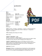 Syonide Villian For brave new world RPG