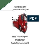 Catalogo de Repuestos Grúa (Camión y Parte Hidráulica) SINOTRUCK HOWO 290
